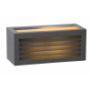 Lucide 27853/01/30 DIMO Wall Light IP54 E27 10.8/11/25 Black