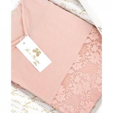 Luisa Moretti SOFIA női pizsama bambuszból XL Lazac szín / Salmon