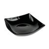LUMINARC Quadrato fekete desszert tányér, 18 cm, 502115