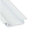 Lumines Alu profil eloxált (Type-Z) fehér, átlátszó