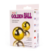 Lybaile Golden Balls, two vibrators, multispeed, 2AA batteries