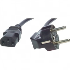 M-CAB 5.0M POWER CORD CEE7/7-C13-BK kábel és adapter