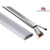 MACLEAN Maclean MC-693 S Cable Cover Home Cinema 60x20x750mm Aluminium silver