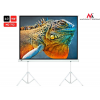 MACLEAN Maclean MC-712 Economy Portable Tripod Projection Screen 150'' 4:3 300x225cm