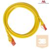 MACLEAN Maclean MCTV-303Y Patchcord UTP cat6 Cable plug-plug 3m yellow