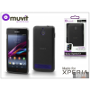 Made for Xperia MUVIT Sony Xperia E1 (D2005) hátlap - Made for Xperia Muvit miniGel - black