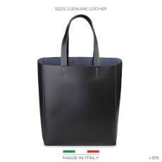 Made In Italia készült Italia női bevásárló táska FOSCA_fekete