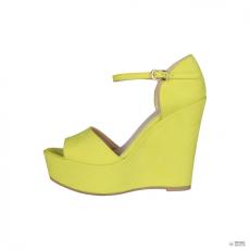 Made In Italia készült Italia női magastalpú cipő BENIAMINA_GIALLO