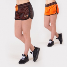 MADISON REVERSIBLE SHORT - BLACK/NEON ORANGE (BLACK/ORANGE) [XS]