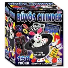 Magic Show bűvészdoboz - Bűvös cilinder 150 trükk logikai játék