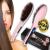 Mágikus elektromos hajegyenesítő hajkefe / digitális hajvasaló fésű