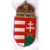 Magyar címer jelvény 23 mm