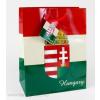 Magyar címeres piros-fehér-zöld dísztasak 11x14 cm