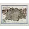 Magyarország hegy- és vízrajzi térképe, 1899 (íves falitérkép) - HM
