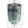 MAHLE ORIGINAL (KNECHT) MAHLE ORIGINAL KC67 üzemanyagszűrő