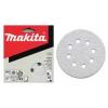 Makita Excenter papírok 125 mm fehér 10db/csomag, szemcseméret:40-180
