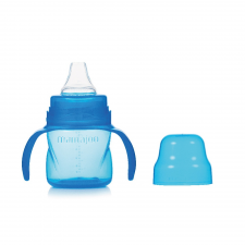Mamajoo Mamajoo BPA mentes Itatópohár 160 ml - Kék cumisüveg