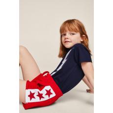 Mango Kids - Gyerek rövidnadrág Light 110-164 cm - piros - 1295025-piros