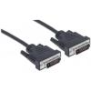 MANHATTAN DVI-DVI Dual Link monitor kábel, 1,8 m, MANHATTAN KMA328838