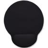 MANHATTAN Egéralátét csuklótámasszal, géltöltésű, MANHATTAN, fekete (MAN434362)