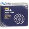 Mannol 8940 Fékolaj DOT 4 (500 ml) Fékfolyadék