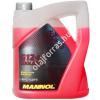 Mannol AF12+ készre kevert G12 fagyálló -30C° (G12 piros) 5L