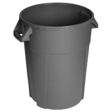 Manutan Pure műanyag szemetes kosár, 120 l űrtartalom, szürke szemetes