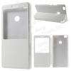 Mûanyag védõ tok / bõr hátlap - FEHÉR - oldalra nyíló S-View Cover flip, hívószám kijelzés, asztali tartó funkció - Xiaomi Mi Max