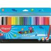 """MAPED Filctoll készlet, 2 mm, kimosható,  """"Color`Peps Ocean"""", 24 különböző szín"""