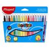 """MAPED Filctoll készlet, mosható,""""Color`Peps"""", 18 különböző szín"""