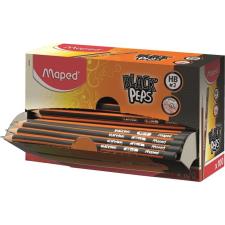 "MAPED Grafitceruza display, HB, háromszögletű, MAPED ""Black Peps"" ceruza"