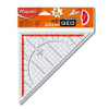 MAPED Háromszög vonalzó, műanyag, 45°, 26 cm, MAPED GeoTechnic (IMA028700)