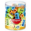 MAPED Hegyező display, egylyukú, MAPED  Vivo , vegyes színek