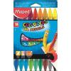 """MAPED Olajpasztell kréta, MAPED """"Color'Peps"""", 18 különböző szín"""