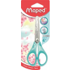 """MAPED Olló, iskolai, 13 cm, MAPED """"Essential Soft Pastel"""", vegyes pasztell színek"""