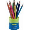 """MAPED Színes ceruza készlet, háromszögletű, összecsukható tartó, MAPED """"Color\´Peps"""", 12 különböző szín"""