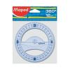 "MAPED Szögmérő, műanyag, 360°, MAPED ""Graphic"""