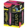 """MAPED Szövegkiemelõ, 1-5 mm, MAPED """"Fluo Peps Max"""", rózsaszín"""