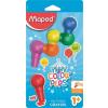 """MAPED Zsírkréta,  """"Color`Peps Baby"""", 6 különböző szín"""