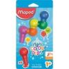 """MAPED Zsírkréta, MAPED \""""Color`Peps Baby\"""", 6 különböző szín [6 db]"""