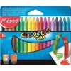 MAPED Zsírkréta, MAPED Color`Peps, Wax, 18 különböző szín (IMA861012)