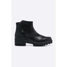 Marco Tozzi - Magasszárú cipő - fekete női csizma, bakancs