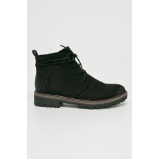 Marco Tozzi - Magasszárú cipő - fekete - 1343742-fekete