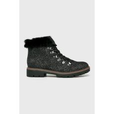 Marco Tozzi - Magasszárú cipő - fekete - 1462950-fekete