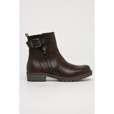 Marco Tozzi - Magasszárú cipő - kávébarna - 1439131-kávébarna