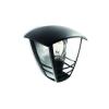 Massive - Philips Massive-Philips 15387/30/16 Creek wall lantern black 1x60W 230V