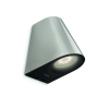Massive - Philips Massive-Philips 17288/47/16 Virga wall lantern LED inox 2x4W SE