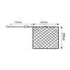 Massive - Philips Vixen Premium 30205 Fényháló, 2x2m, 180 LED, hideg fehér