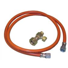 Master Ikresítő szett MASTER (menetes csatlakozó + gázcső 0,5m) hűtés, fűtés szerelvény