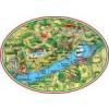 Matrica - Balaton térkép